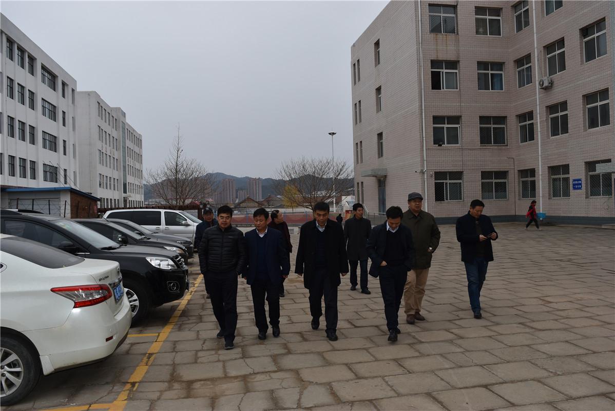 国家开放大学来青龙职教中心调研