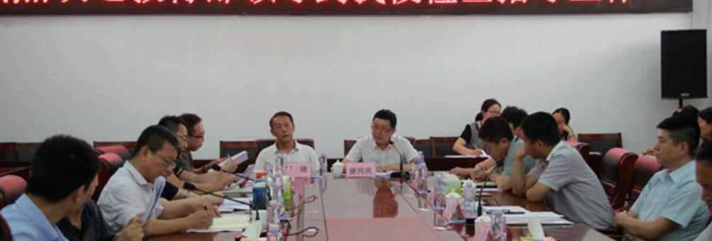 国家教育部领导莅临禹州职专检查指导工作