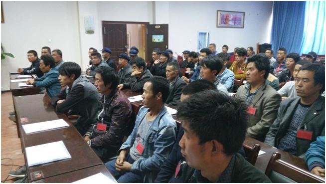 第二期精准扶贫农民工焊接技术培训