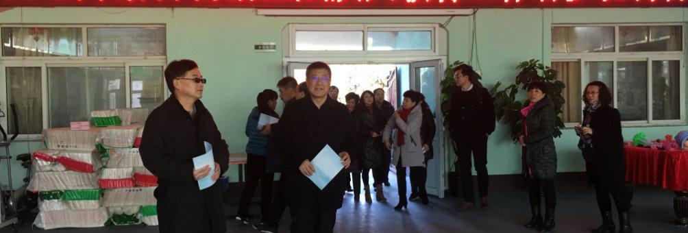 内蒙古自治区残联和北京市残联领导到房山区调研残疾人扫盲工作
