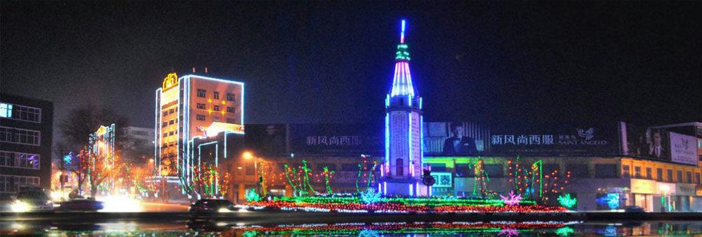 人民英雄纪念碑夜景