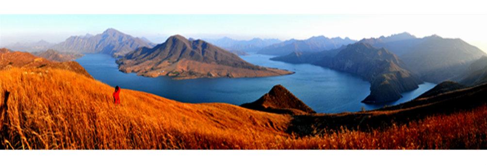 美丽的青龙湖