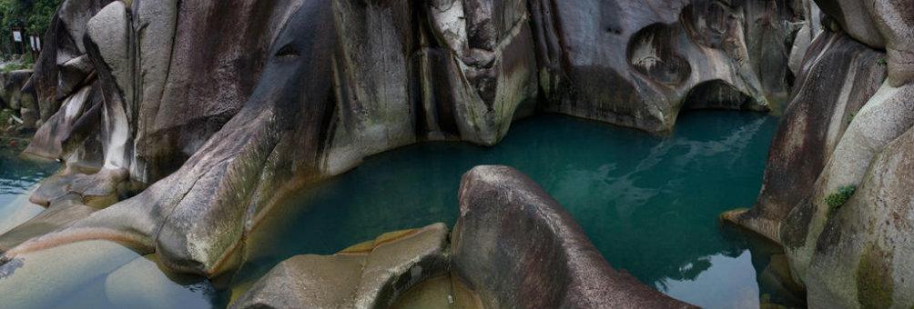 国家级风景名胜区、国家4A级旅游景区、世界地质公园---福建福安白云山