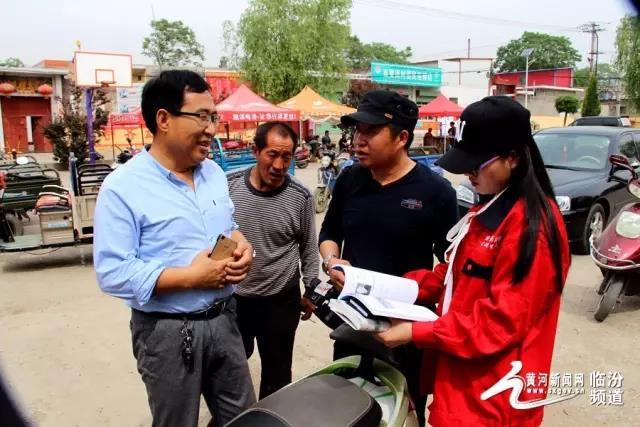 襄汾县农业广播学校为南贾岗村果农传授专业技术