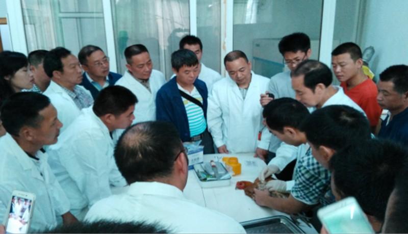 县畜牧局举办2016年动物防疫职业技能培训及能手选拔赛
