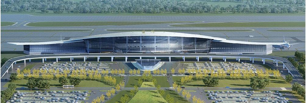 建设中的云龙机场(效果图)