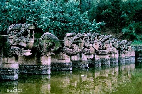 杨戬斩龙成桥----泸县龙脑桥的传说