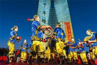 家乡的故事之非遗文化----王氏大花灯和大奏鼓