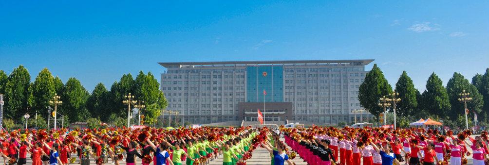 人民广场表演
