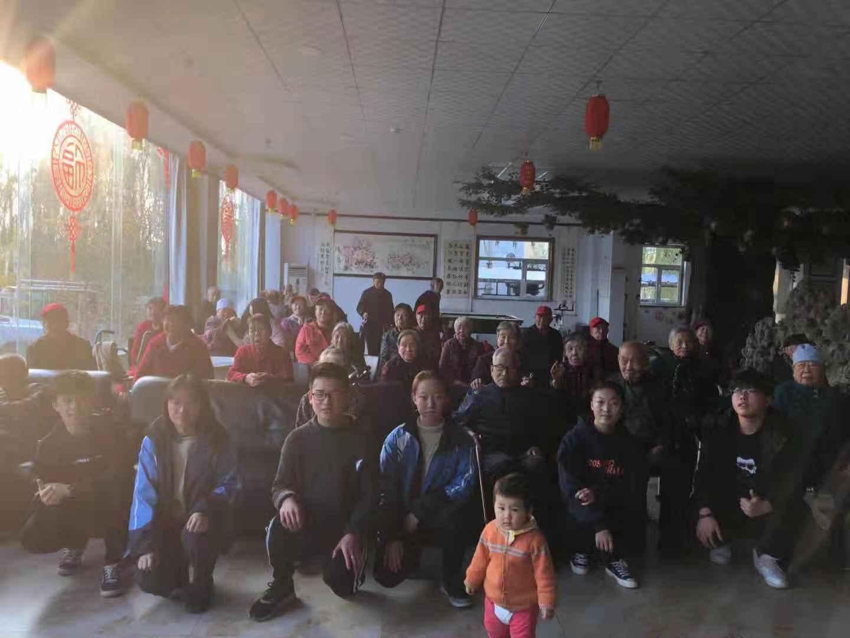祁县职中音乐班同学尊老活动
