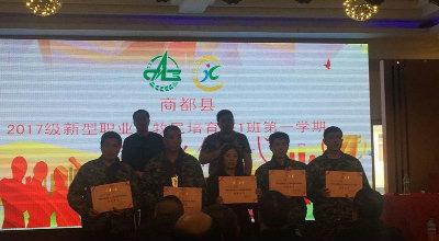 商都县新型职业农民培育工程第一期培训班顺利开班