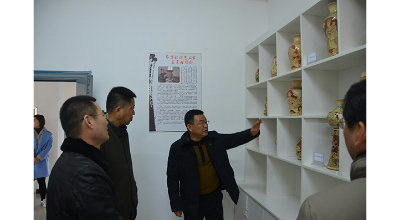 省教育督导委员会 到阜阳科技工程学校进行开学检查工作