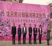 花香海棠,美丽佳荣  ---佳荣里街首届海棠文化节暨创建全国文明城区攻坚启动仪式