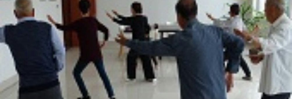 诸城市石桥子社区学院举办老年大学太极拳培训班