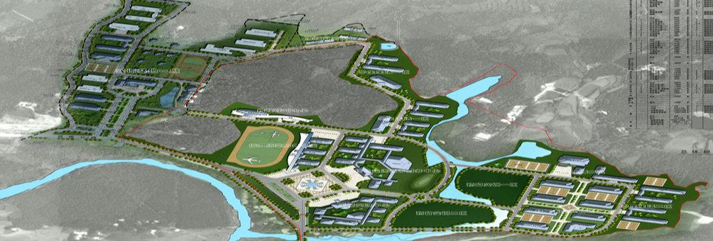 信阳市平桥公共实训基地规划图