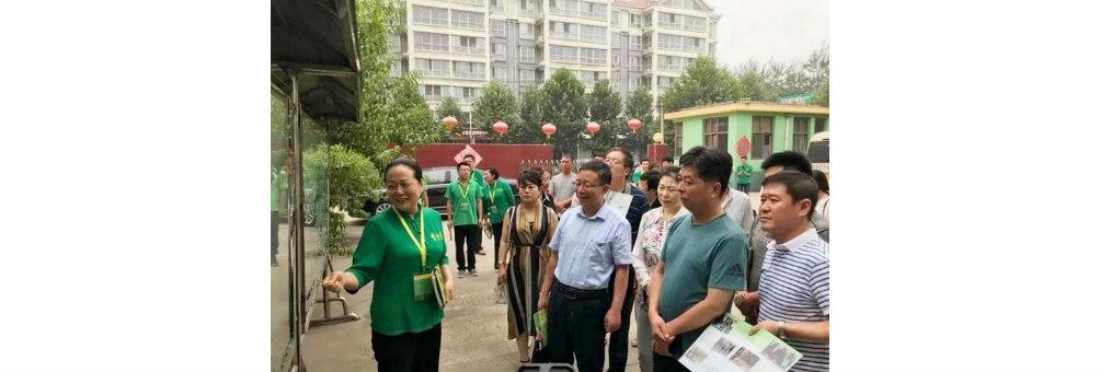 宣化区考察组赴河北企美农业科技有限公司就谋划发展有机农业进行参观学习