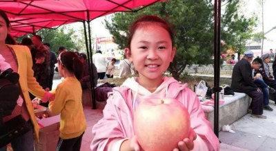 1个苹果1斤半!平度苹果节上演最大苹果争霸赛