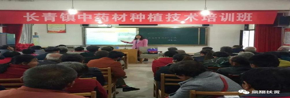 长青镇产业扶贫实用技术培训班成功举办