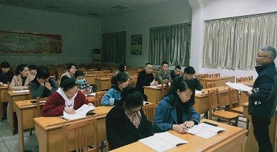 """周王庙成校开展""""双证制""""数学培训"""