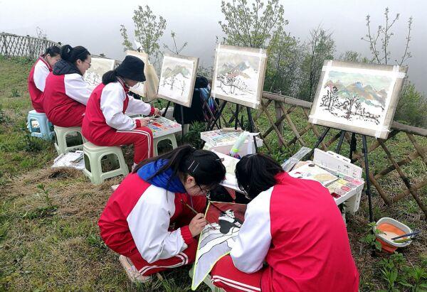 """我院被确立为""""杭州市乡村书画学共体联盟服务站"""""""