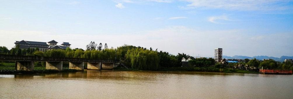 湿地公园美景