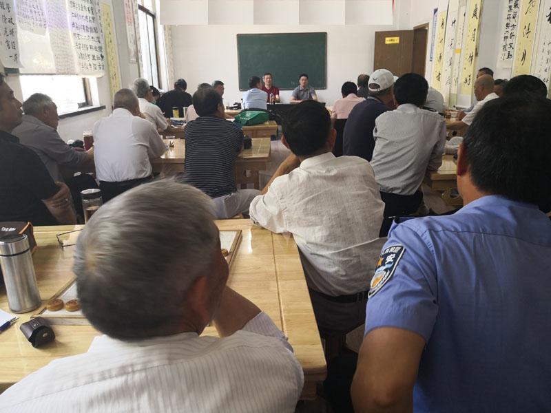 丹阳市书法协会司徒镇分会举行书法培训