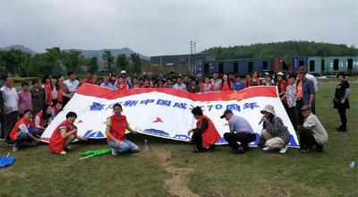 薛埠镇社区志愿者开展关爱失独家庭行动