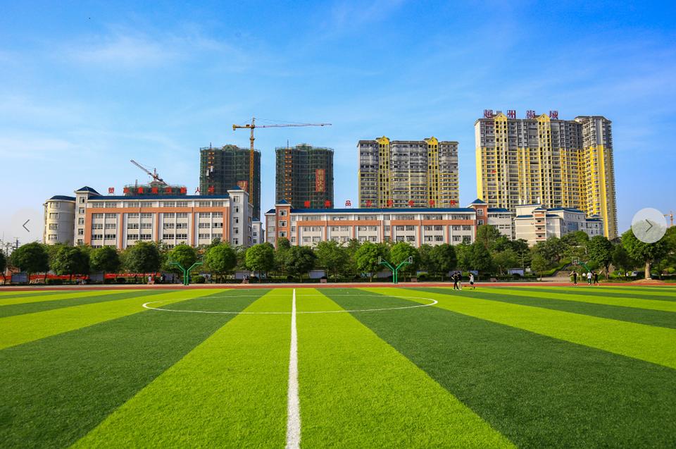 浦北一职校迎接自治区中等职业学校星级评估认定