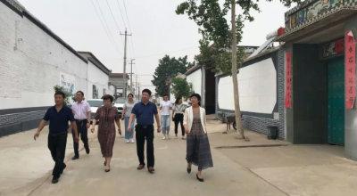 """邢台市妇联来大陆村镇调研""""美丽庭院""""创建工作"""