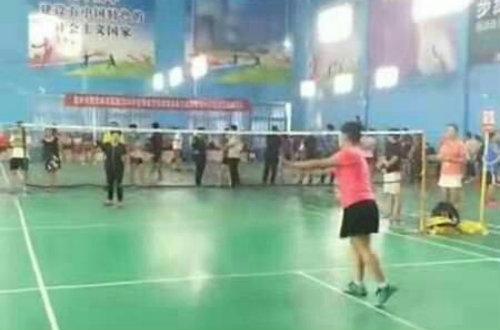宿州应用技术学校女教师将代表宿州参加安徽省羽毛球比赛
