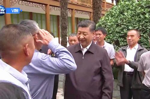 国家主席习近平在河南信阳市新县考察调研 走进红色大别山