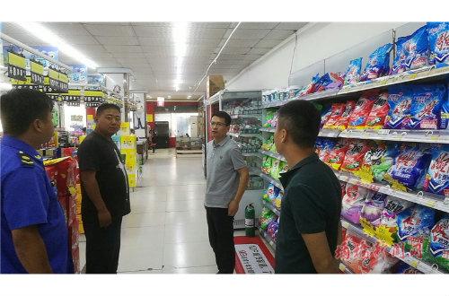 朱仙庄镇开展重点场所消防安全检查