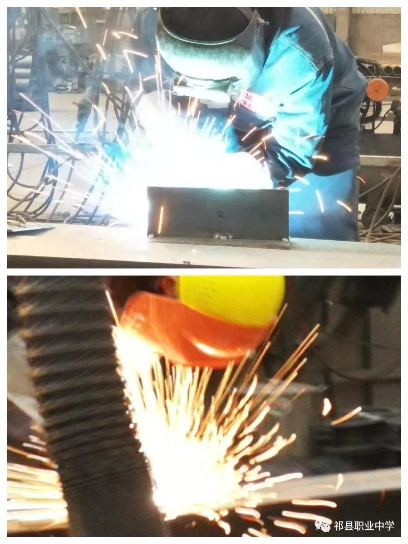 焊花映赛场,焊将显技能 ---祁县职中现代学徒制恒达班焊工技能比赛