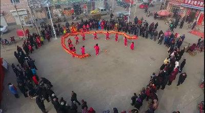 招子鼓、舞龙庆新春!