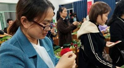 海昌成校开展插花技能培训