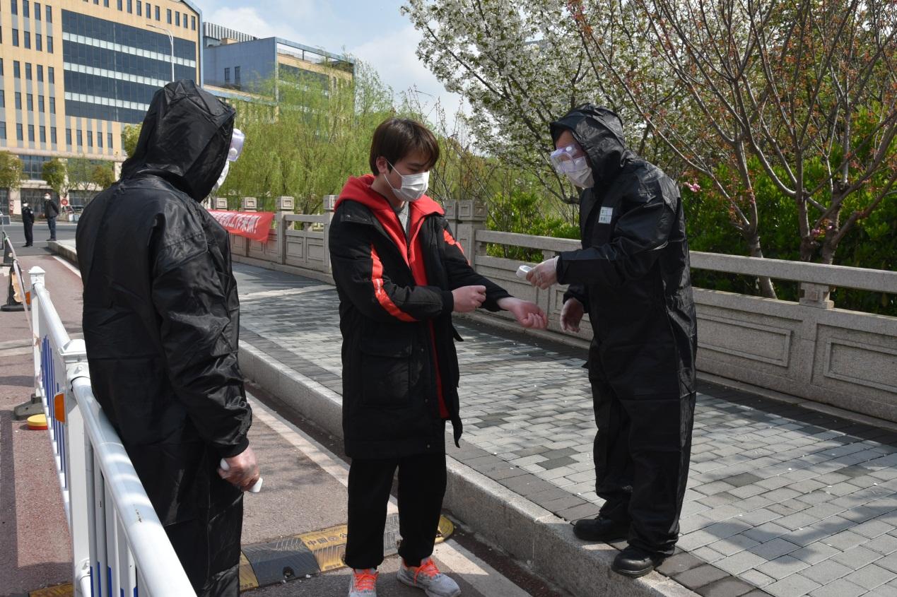 苏州健雄职业技术学院举行新冠肺炎疫情处置模拟演练