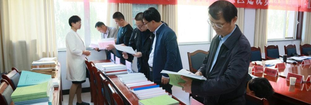 省教育厅专家组来临泽复核抽查省级社区教育实验区建设工作