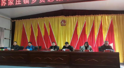 苏家庄镇召开乡贤总结表彰大会
